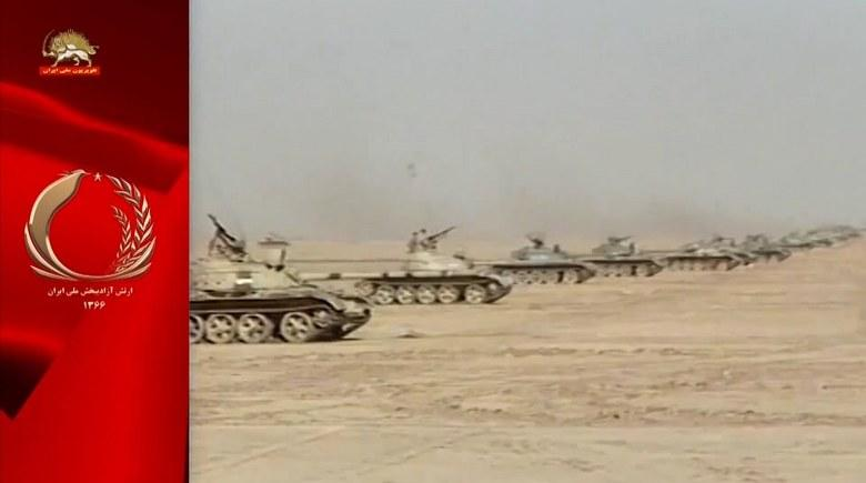 سیمرغ رهایی- مانور جنگی ارتش آزادیبخش ملی ایران - ۱۵تیر ۱۳۷۳