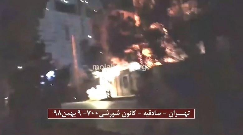 عملیات کانون های شورشی در مقابل ستاد اجرایی خمینی ملعون ۹ بهمن - #قیام_تا_پیروزی #سال_سرنگونی