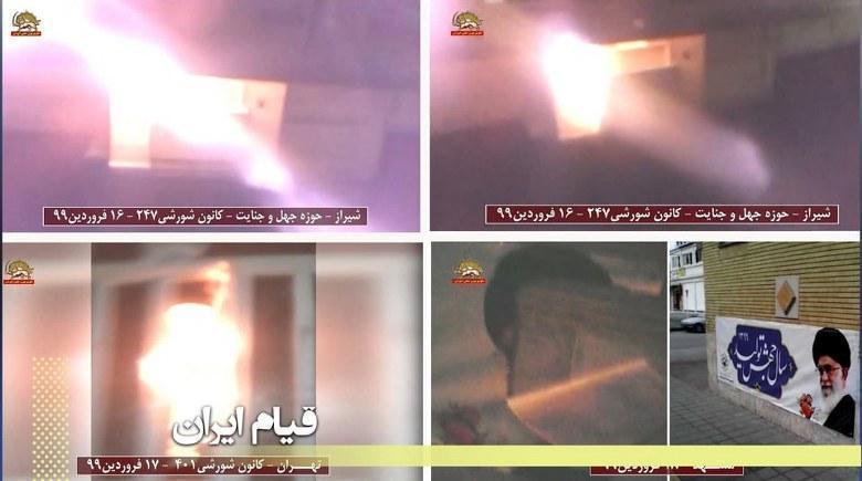 فرزندان ایران با یاد جان باختگان آماده یاری به هموطنان، شورش و نبرد بی امان را ادامه میدهند
