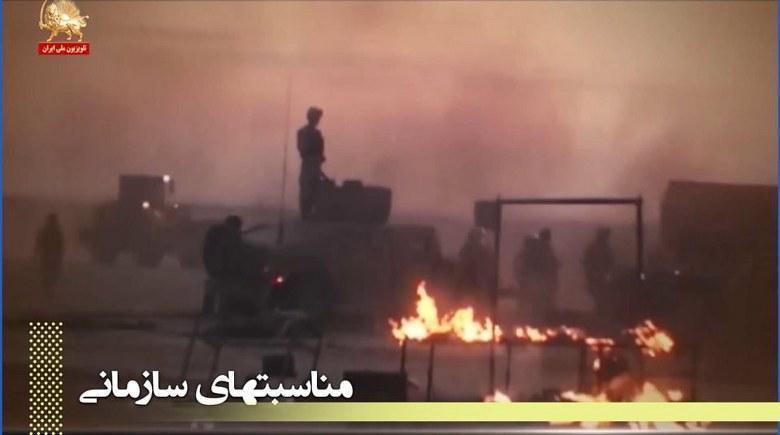 ۱۹فروردین ۹۰، پرتویی از حماسه تا به آخر ایستادن مجاهدین - قسمت اول