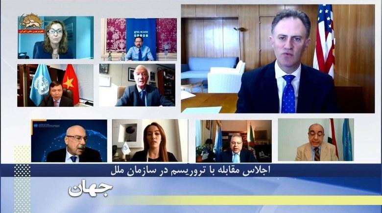 اجلاس مقابله با تروریسم در سازمان ملل درباره دستگیری یک دیپلمات بمب گذار رژیم در ژوئن ۲۰۱۸