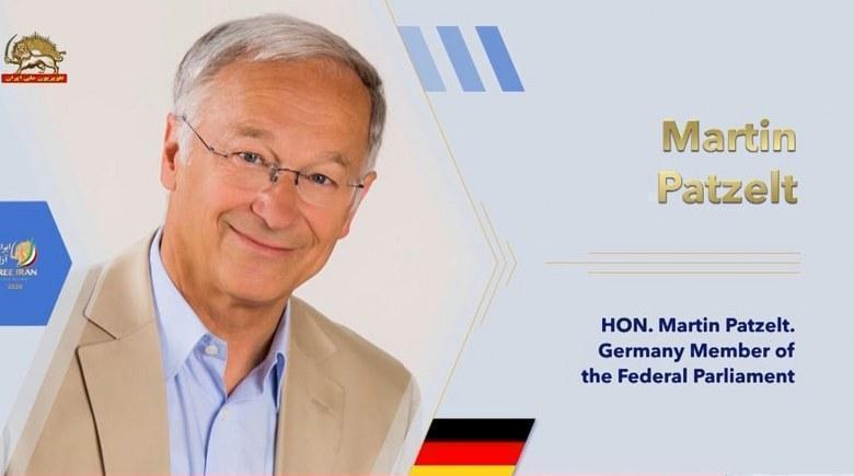 مارتین پاتسلت عضو کمیته حقوق بشر مجلس فدرال آلمان